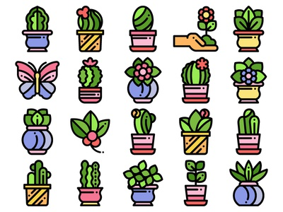 House Flowers Icons butterfly icon plant icons plants tree flower icons flower