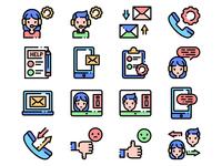 Customer Service Icons