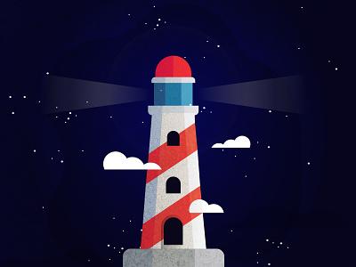 Freebie Lighthouse lighthouse illustration lighthouse free lighthouse freebie free illustration vector illustration