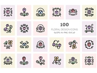 Floral Design Icons