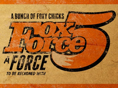 fox force five by fabio perez dribbble. Black Bedroom Furniture Sets. Home Design Ideas