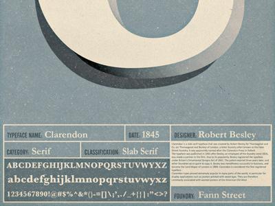 Clarendon clarendon b type typography 36daysoftype