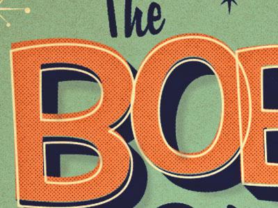 Bobbi O twentyonecreative retro texture type typography