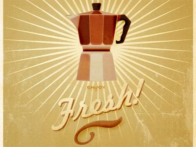 Espresso Poster  Dribble