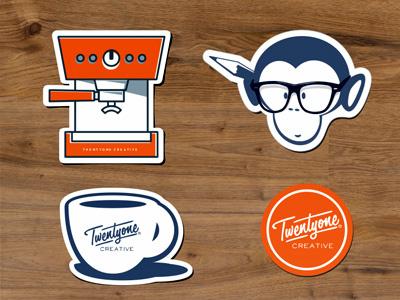 Twentyonecreative Stickers creative espresso twentyonecreative coffee custom stickers free stickers rebound sticker mule