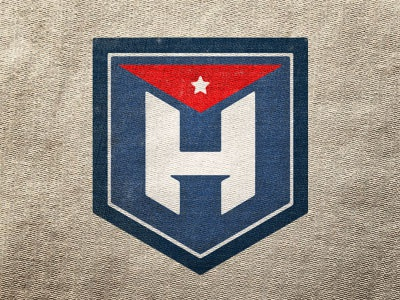 Havana  miami textures flag vintage logo havana cuba