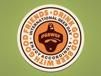 International Beer Day Badge