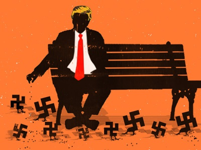 Trump Pigeons trump unfortunately