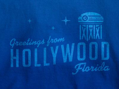 Hollywood Greetings Tee