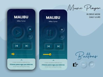Daily UI #9 Music Player soft ui dailyui 009 music player music app spotify