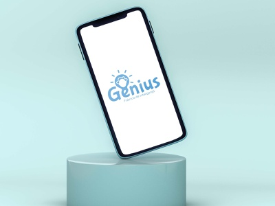 Cromatix presents a new work for Genius Iphone XR moldova brand typography identity design cromatix creative image lab creative cromatixlab chisinau branding