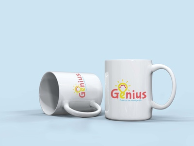 Cromatix presents a new work for Genius  cup typography moldova brand identity design cromatix creative image lab creative cromatixlab branding chisinau