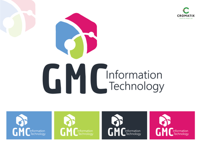 Cromatix Creative Image Lab logo design work for GMC! logo illustration cromatix creative design branding chisinau cromatixlab moldova cromatix creative image lab