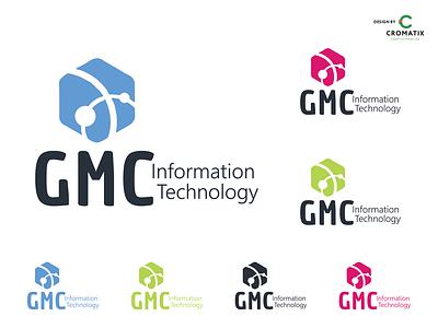 Cromatix Creative Image Lab logo design work for GMC! cromatix cromatixlab moldova chisinau branding cromatix creative image lab logo illustration design creative
