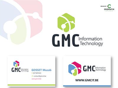 Cromatix Creative Image Lab logo design work for GMC! branding moldova cromatix cromatix creative image lab cromatixlab chisinau logo illustration design creative