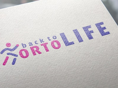 Presentation Logo Ortolife Final  Design By Cromatix