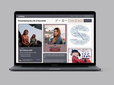 LifeWeb Redesign