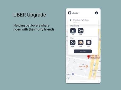 Uber Upgrade simple design ui