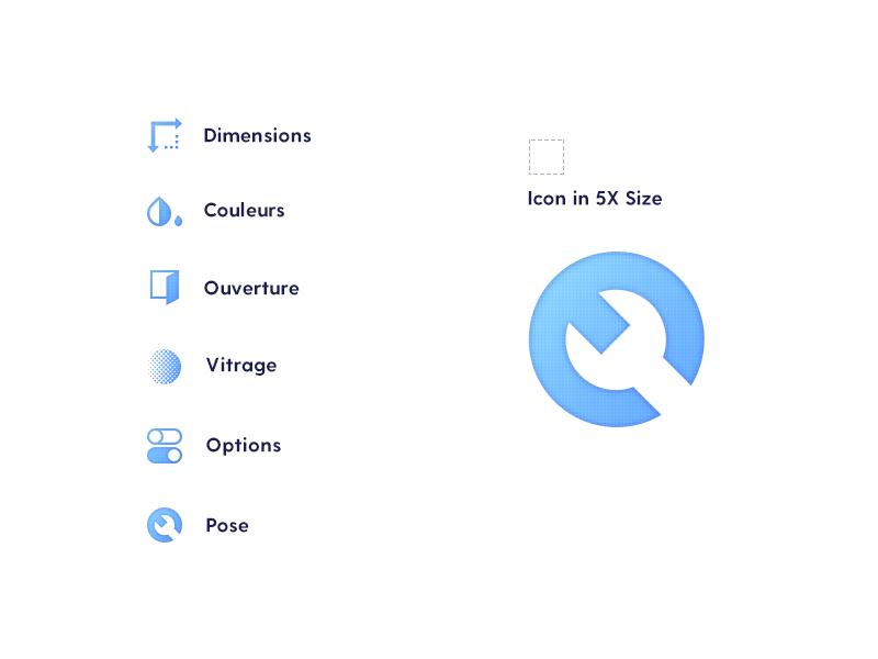 Talo Studio Icons iconography ux talo blue ui icons