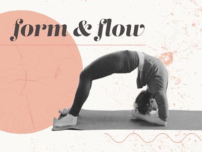 Dwi Pada Form & Flow yoga logo yoga pose type yoga