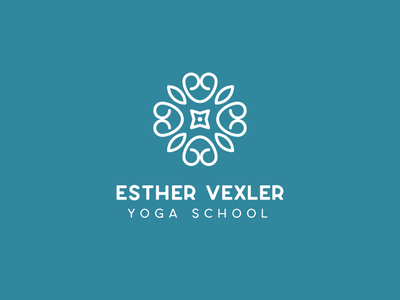Nonprofit Yoga School Final Logo yoga logo branding wellness logo yoga brand identity