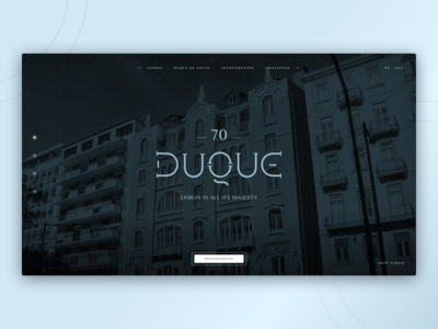 Duque 70 - Real Estate Website