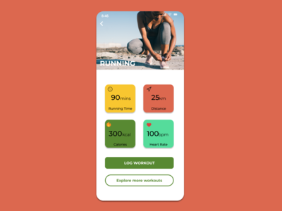 #DailyUI041 - Workout Tracker figma app productdesign webdesign webdesigner behance dribbble appdesign ui interface ux uidesigner userexperience userinterface redesign uidesign uidesignpatterns