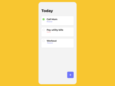 #DailyUI042 - To-do List figma app productdesign webdesign webdesigner behance dribbble appdesign ui interface ux uidesigner userexperience userinterface redesign uidesign uidesignpatterns