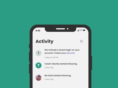 #DailyUI047 - Activity Feed figma app productdesign webdesign webdesigner behance dribbble appdesign ui interface ux uidesigner userexperience userinterface redesign uidesign uidesignpatterns