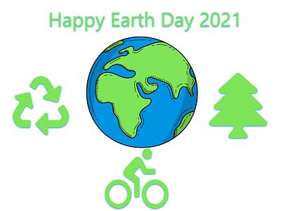 Earth  Day 2021 mockup ui ux
