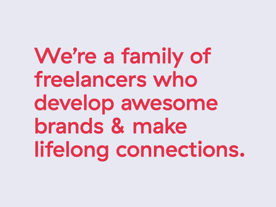 The best freelance family simpleasmilk family