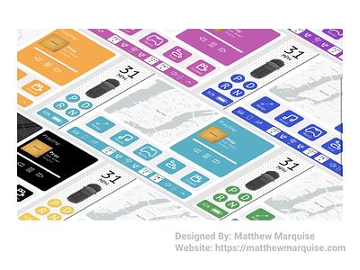Daily UI 034 ::Car Interface car interface figma web app minimal dailyui clean design ux ui