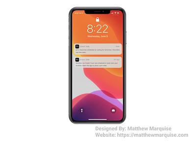 Daily UI 049 :: Notifications notifications dailyui049 mobile app minimal dailyui clean design ux ui