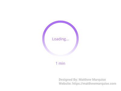 Daily UI 076 :: Loading... fimga dailyui076 progress bar spinner loading desktop mobile web app minimal dailyui clean design ux ui
