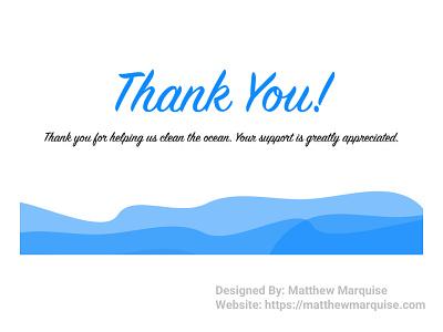 Daily UI 077 :: Thank You appreciation greeting thank you figma dailyui077 app minimal dailyui clean design ux ui