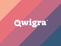 Qwigra. Mobile app identity.
