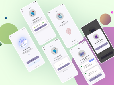 Daily UI # 8 Wallet verification process system