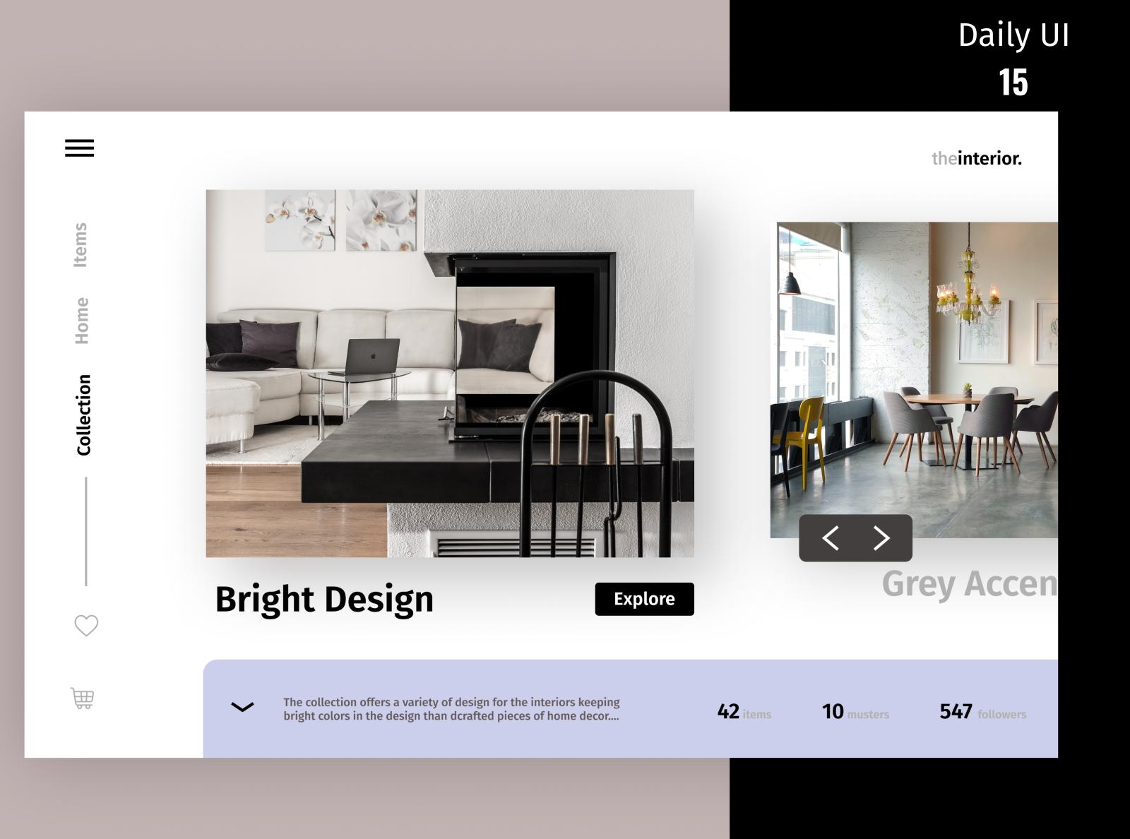 Home Decor Website Design Concept By Satya Ranjan Swain On Dribbble