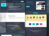 New Webvois design