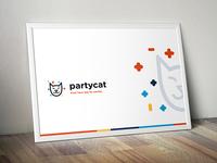 Partycat branding