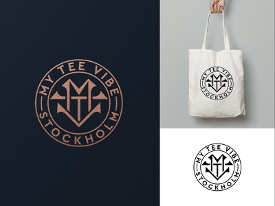 MTV Logo clothing line fashion brand clothing brand monogram logo logo design vector design logo branding letter minimal initial logo luxury logo