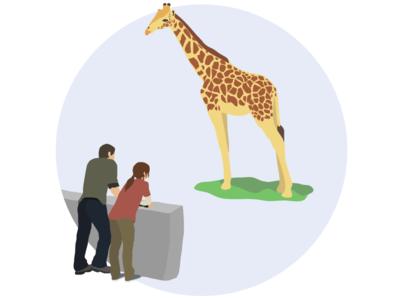 Last Of Us Giraffe Scene Illustration