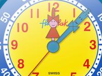 Flick Flack Clock Template