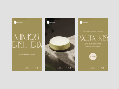 La Veganeria socialmedia typography branding design food