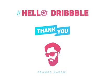 Hello Dribbble, First Shot