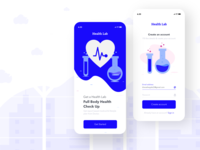 Health lab - Sign up