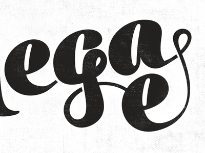 Logo work in progress.  typo logo lettering black texture