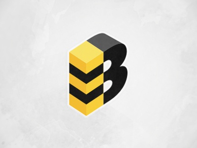 Bee logo logo bee yellow black symbol stripes