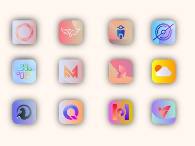 App icon design ios icon app icon logo app icon design application app design branding iphone app design illustration ui ux design icon design design icon set logo icon ios app design