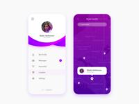 Social Communication app UI design
